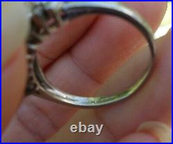 1.50ct G/VS-Si1 Marquise vintage diamond wedding anniversary band ring Platinum