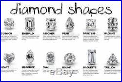 2.20Ct Round Cut White Diamond Vintage Engagement Wedding Ring 14K White Gold