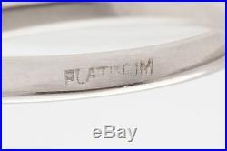 Antique 1930s $15,000 1.70ct Old Euro Diamond Platinum Wedding Ring
