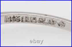 Antique 1940s $6000 1.50ct Natural Alexandrite Diamond Platinum Wedding Ring