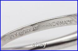 Antique 1950s $15,000 2.52ct Marquis Diamond Platinum Wedding Ring SET