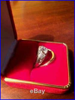 Beautiful Vintage Diamond Wedding Rings (set or seperate)