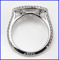 Gia 2.01ct Estate Vintage Marquise Diamond Engagement Wedding Ring Platinum
