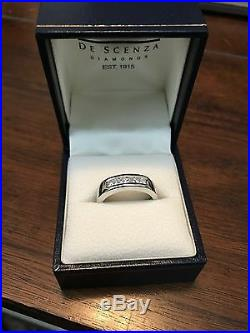 MEN'S Vintage Estate 18K Gold DIAMOND Wedding Ring Band 0.76 Carats Size 10
