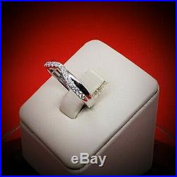 Rare vintage engagement diamond White Gold Band Ring Diamond Rings Wedding Rings