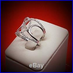 Rare vintage engagement diamond White Gold Ring Diamond Rings Wedding Rings Jewe