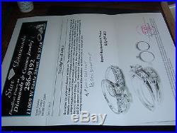 Vintage 1930's Ladies 14kt White Gold Diamond Wedding Ring Set Size 6