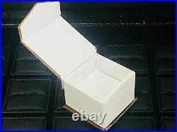 Vintage 1.70ct Oval Cut Diamond Bridal Set Engagement Ring 14k Real White Gold