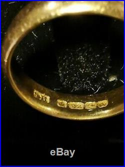 Vintage 22ct Carat Gold Wedding Band Ring 5.5grams Size N, fully hallmarked