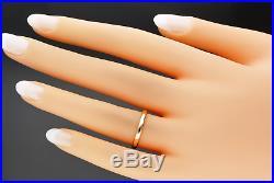 Vintage 22ct Gold Wedding Ring 1938