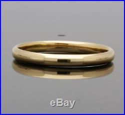 Vintage 22ct Rose Gold Wedding Ring 1948