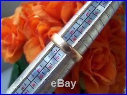 Vintage Antique Rose Gold 9ct Gold Wedding Band Ring Size N Birmingham 1922 2.7g