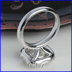 Vintage Art Deco 2.52Ct Round Diamond Engagement Wedding Ring In 14k White Gold