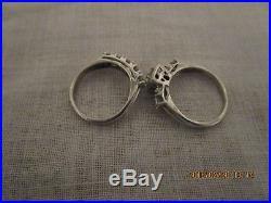 Vintage Diamond Wedding Ring Set 1 1/2 carat