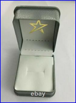 Vintage Estate 14K Yellow Gold Over Aquamarine & Diamond Engagement Ring 2.75Ct
